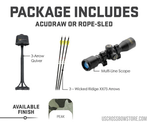 M-370, ACUdraw, Multi-Line Scope-US Crossbow & Archery Store