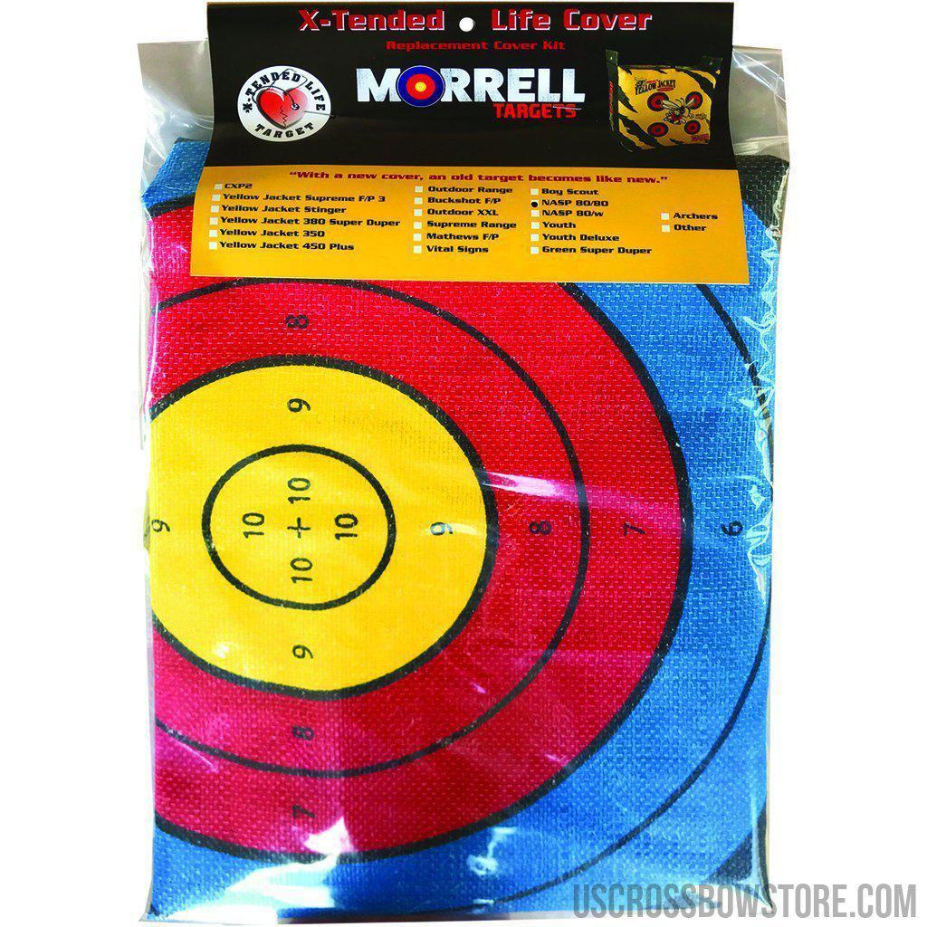 Morrell Replacement Bag Target Cover Nasp 80cm Face Both Sides-Archery Products-US Crossbow & Archery Store