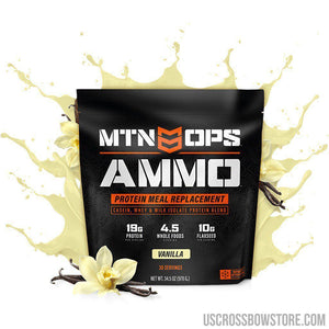 Mtn Ops Ammo Whey Protein Meal Replacement Vanilla-Food & Gifts-US Crossbow & Archery Store
