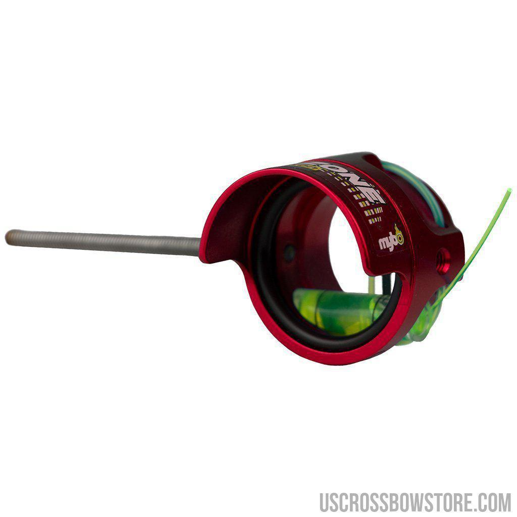 Mybo Ten Zone Scope Cherry Red 0.75 Diopter Green Fiber-Mybo-US Crossbow & Archery Store