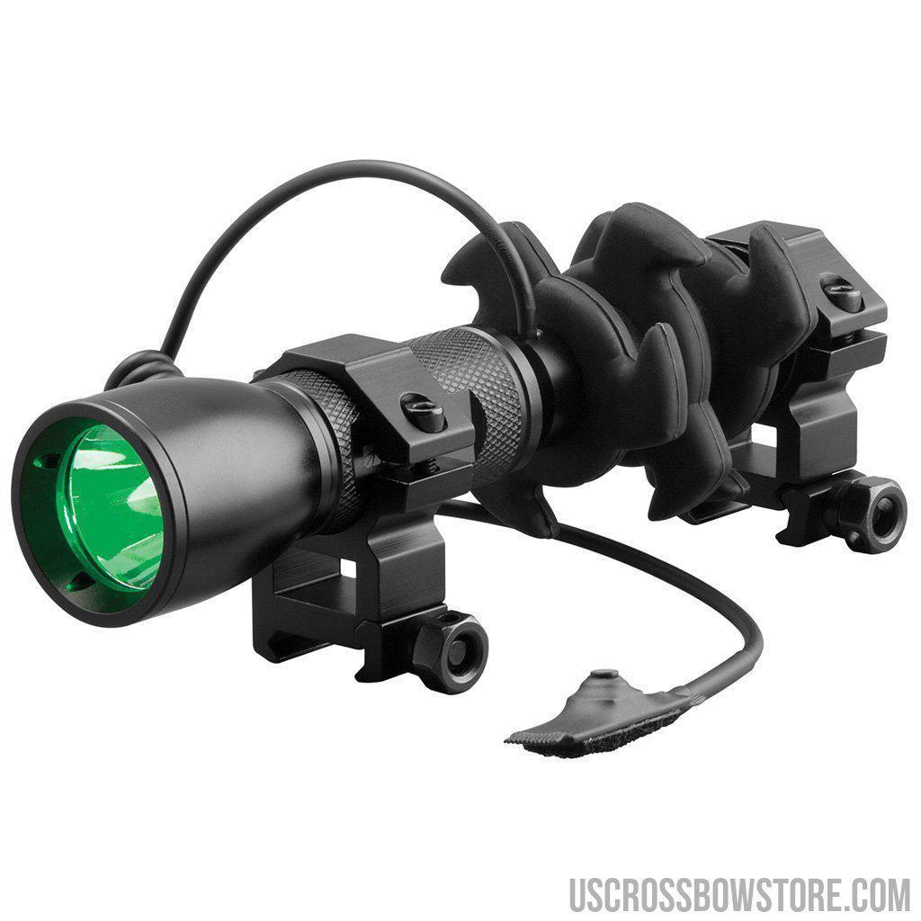 Nap Apache Predator Crossbow Flashlight Green Led-New Archery Products-US Crossbow & Archery Store
