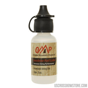 October Mountain Crossbow Rail Lube .5 Oz.-US Crossbow & Archery Store