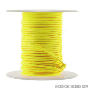 October Mountain Endure-xd Release Loop Rope Flo Yellow 100 Ft.-Archery Products-US Crossbow & Archery Store