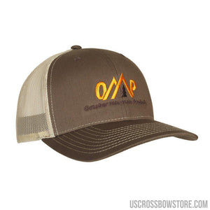 October Mountain Logo Hat Brown-tan-Hunting Clothing & Apparel-US Crossbow & Archery Store