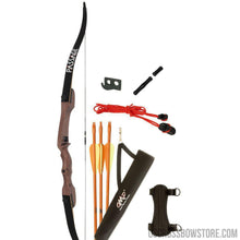 Load image into Gallery viewer, October Mountain Passage Recurve Bow Package 54 In. 20 Lbs. Lh-US Crossbow & Archery Store