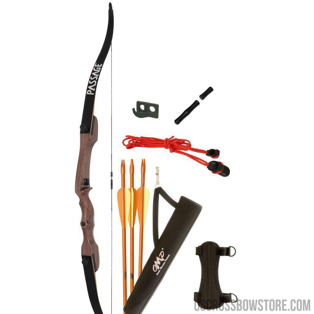October Mountain Passage Recurve Bow Package 54 In. 20 Lbs. Lh-US Crossbow & Archery Store