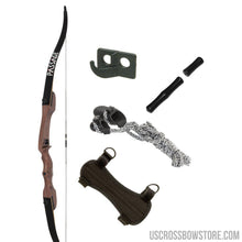 Load image into Gallery viewer, October Mountain Passage Recurve Bow Package 54 In. 20 Lbs. Rh No Arrows Or Quiver-US Crossbow & Archery Store