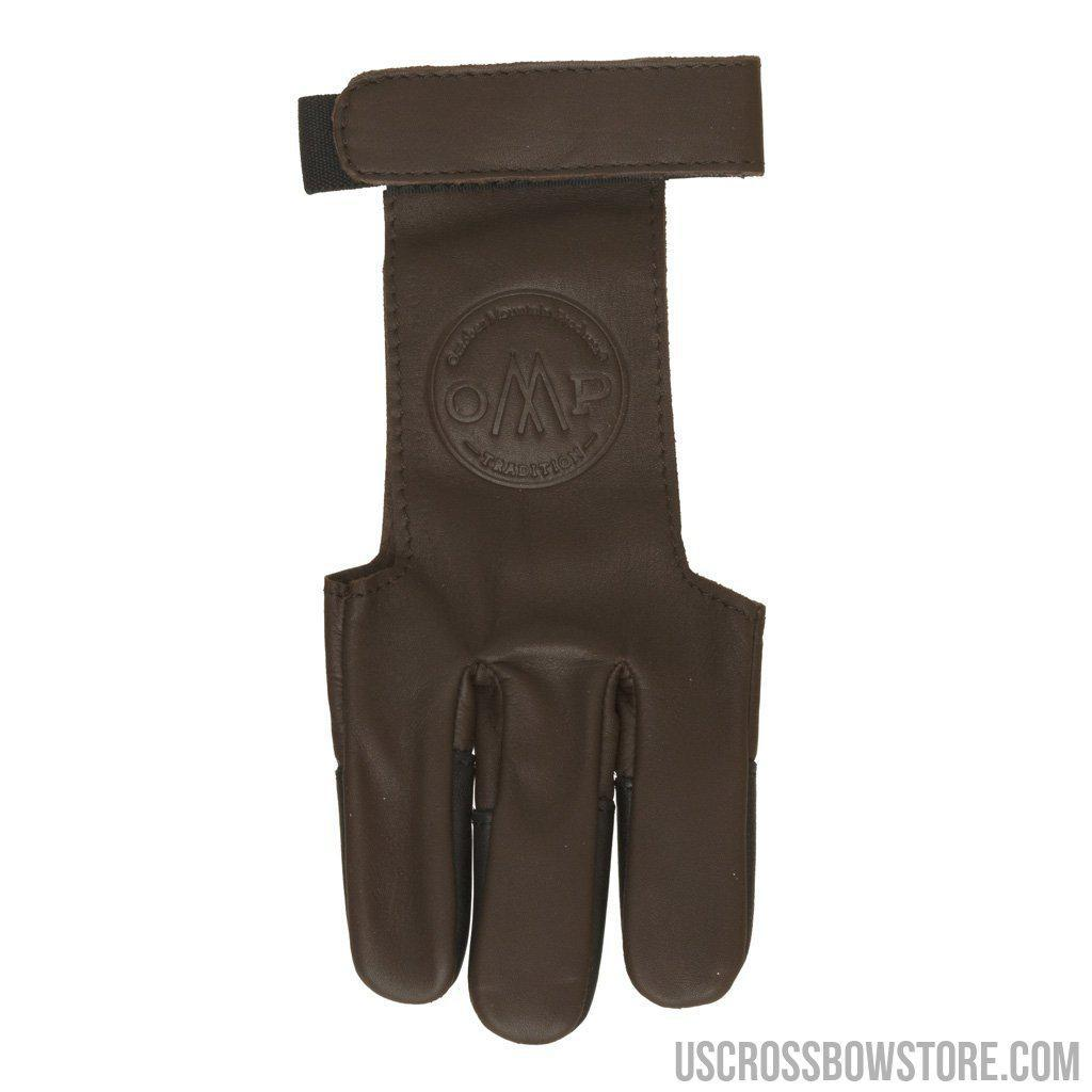 October Mountain Shooters Glove Brown Large-October Mountain-US Crossbow & Archery Store