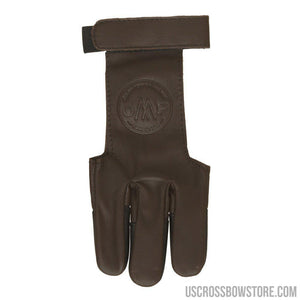 October Mountain Shooters Glove Brown Medium-Archery Products-US Crossbow & Archery Store