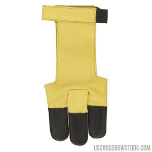 October Mountain Shooters Glove Tan X-large-Archery Products-US Crossbow & Archery Store