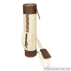 October Mountain Traditional Back Quiver Rh-lh-Archery Products-US Crossbow & Archery Store