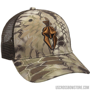 Outdoor Cap Krpytek Meshback Cap Highlander-brown-Hunting Clothing & Apparel-US Crossbow & Archery Store