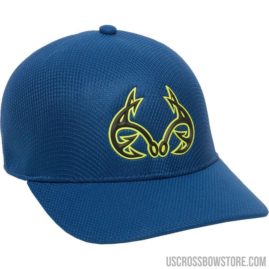 Outdoor Cap Proflex Realtree Fishing Hydra Cap Blue Large-x-large-Outdoor Cap-US Crossbow & Archery Store