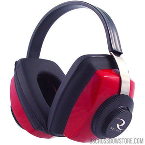 Radians Competitor Earmuff Red-US Crossbow & Archery Store