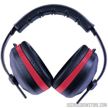 Load image into Gallery viewer, Radians Silencer Earmuff Black With Red Accent-Black Powder-US Crossbow & Archery Store