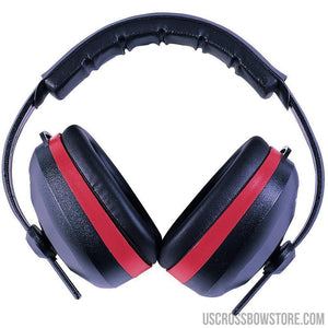 Radians Silencer Earmuff Black With Red Accent-US Crossbow & Archery Store