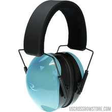 Load image into Gallery viewer, Radians Trpx Passive Earmuff Aqua-Black Powder-US Crossbow & Archery Store