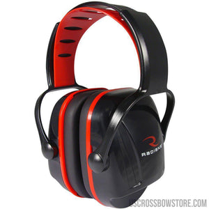 Radians X-caliber Youth Earmuff Black And Red-Radians-US Crossbow & Archery Store