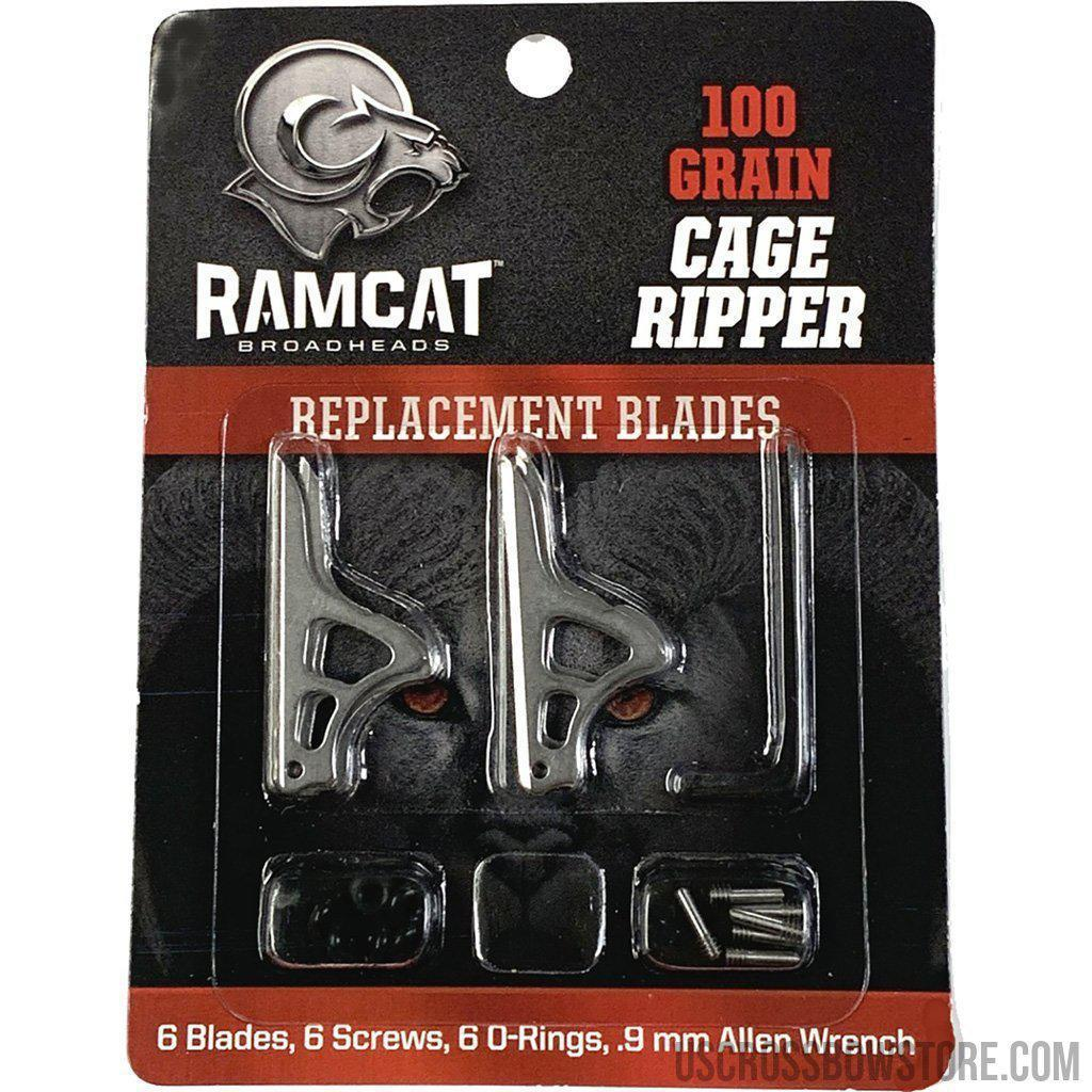 Ramcat Cage Ripper Replacement Blade Kit 100 Gr.-Ramcat-US Crossbow & Archery Store