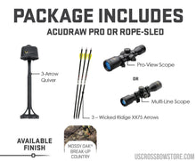 Load image into Gallery viewer, Rdx 400, Acudraw Pro, Pro-View Scope-US Crossbow & Archery Store