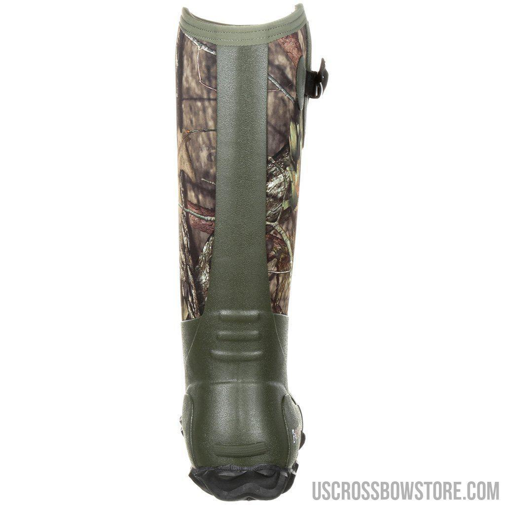 Rocky Core Rubber Boot Mossy Oak Country 5mm 9-US Crossbow & Archery Store