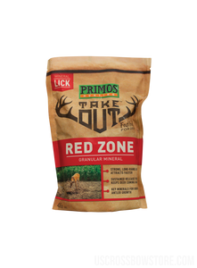 Take Out Brown Mineral Granular Redzone 4.5 Lb, Bag-US Crossbow & Archery Store