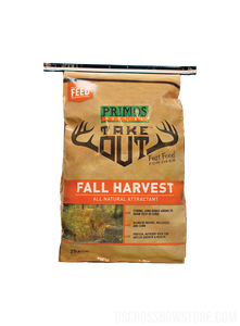 TAKE OUT FALL HARVEST 25 LB BAG-US Crossbow & Archery Store