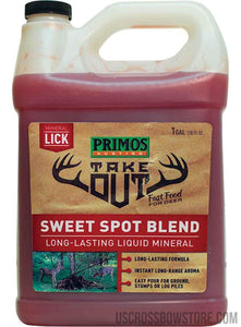 TAKE OUT MINERAL SWEET SPOT BLEND-US Crossbow & Archery Store