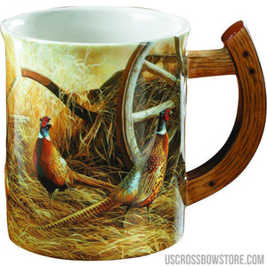 Wild Wings Sculpted Mug Autumn Glow Pheasants-Wild Wings-US Crossbow & Archery Store