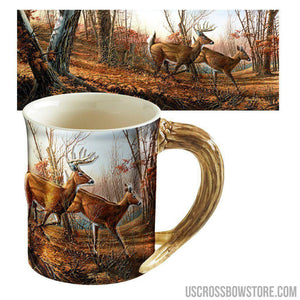Wild Wings Sculpted Mug Autumn Run-Wild Wings-US Crossbow & Archery Store