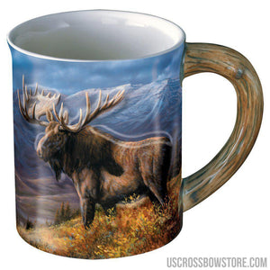 Wild Wings Sculpted Mug Cooper Moose-Wild Wings-US Crossbow & Archery Store
