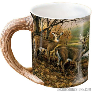 Wild Wings Sculpted Mug Indian Summer Whitetail Deer-Wild Wings-US Crossbow & Archery Store