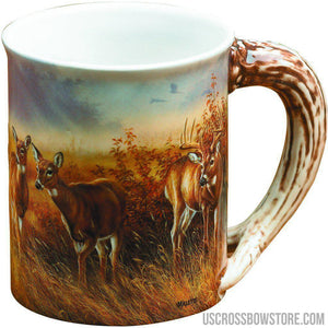 Wild Wings Sculpted Mug Meadow Mist Whitetail-Wild Wings-US Crossbow & Archery Store