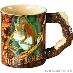 Wild Wings Sculpted Mug Nut House Squirrel-Wild Wings-US Crossbow & Archery Store