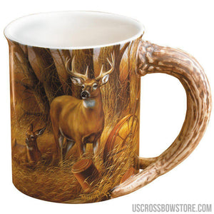 Wild Wings Sculpted Mug Rustic Retreat Whitetail-Wild Wings-US Crossbow & Archery Store