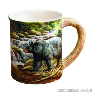 Wild Wings Sculpted Mug Shadow Of The Forest Bear-Wild Wings-US Crossbow & Archery Store