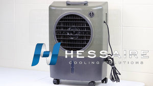 How to Install Casters and Switch on the Hessaire MC18 Mobile Cooler
