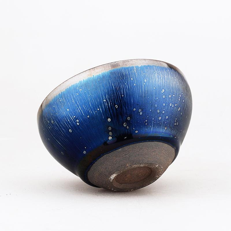 Night Sky Tea Cup Tenmokus