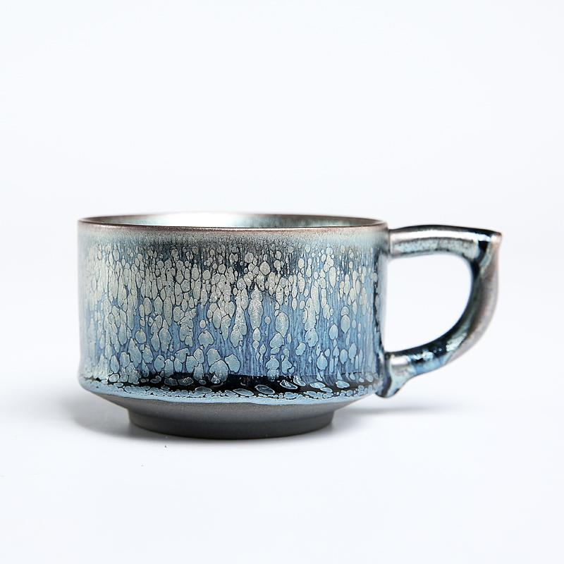 Raindrops Coffee Mug Tea Cup Tenmokus