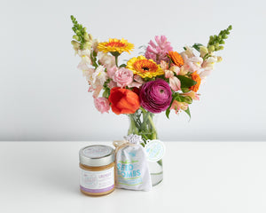Blooms & Bees gift set (with donation to Pollinator Partnership Canada)