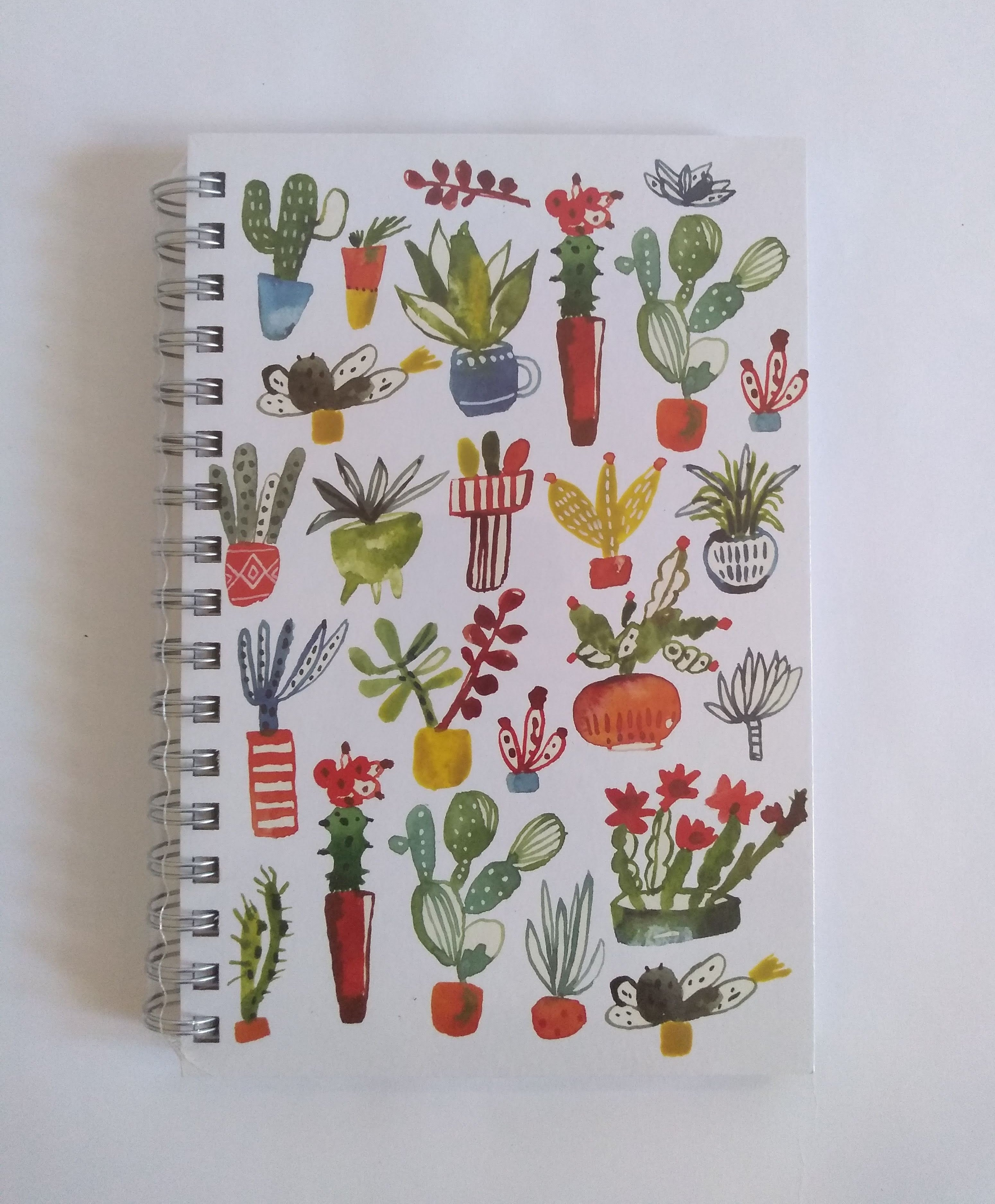 Ecojot Sprial bound lined notebook