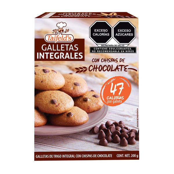 Galletas Integrales con Chispas de Chocolate