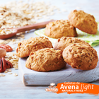 Galletas de avena natural / con nuez 1 kg