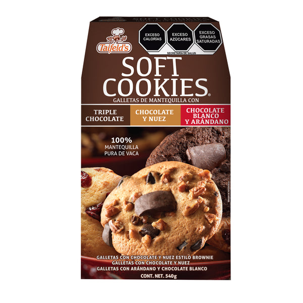 Soft Cookies 540g