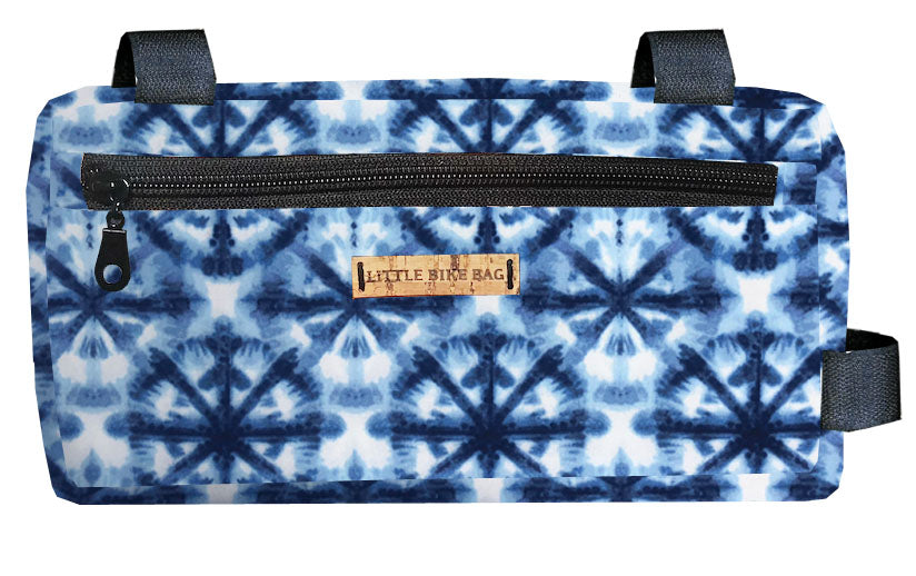 Blue Tie Dye Basic Bag