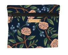 Load image into Gallery viewer, Square Bike Bag - Navy Bloom