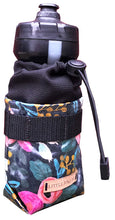 Load image into Gallery viewer, Navy Rose Bottle Bag