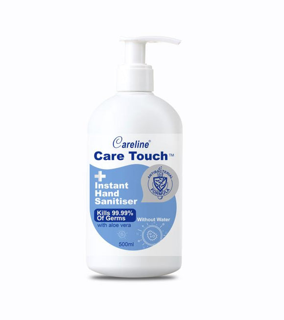 24 x Care Touch Hand Sanitiser 500ml
