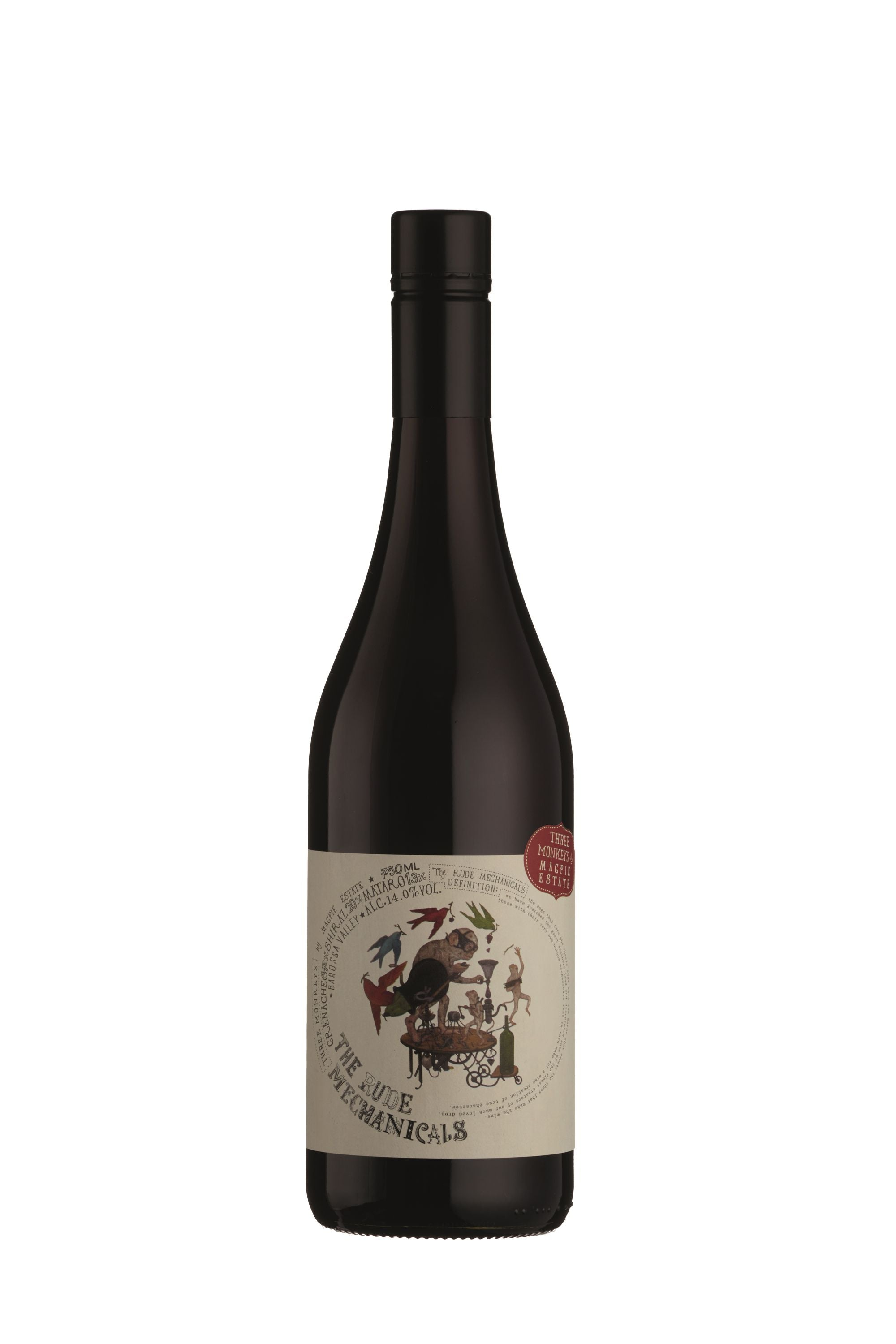 The Rude Mechanicals 'Three Moneys' Grenache Shiraz Mataro