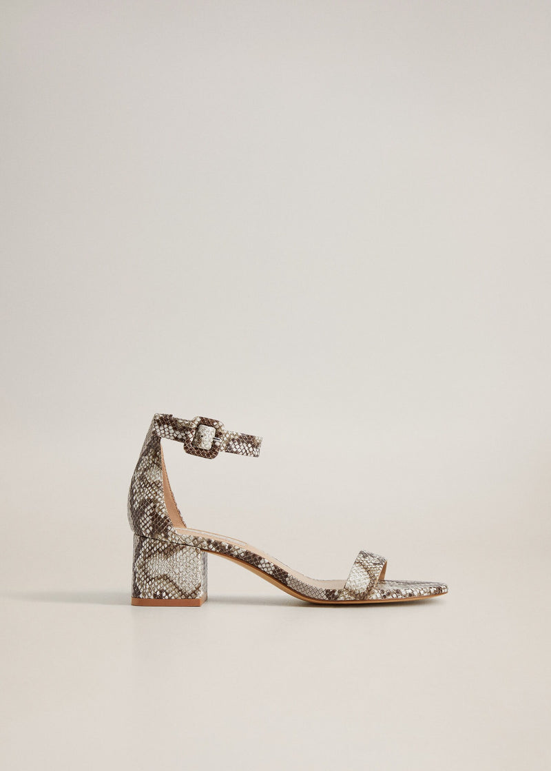Mango Ankle-cuff sandals for Women - General Plane